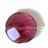 Facet Puff Reconstructed B-grade 16in 10mm Amethyst